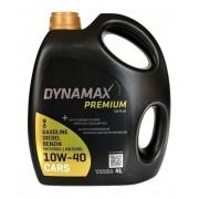 Моторное масло Dynamax Premium Uni Plus 10W-40 4л