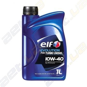 Моторное масло Elf Turbo Diesel 10W-40 1л