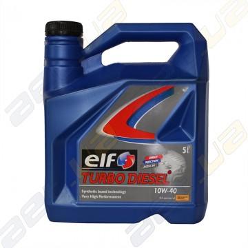 Моторное масло Elf Turbo Diesel 10W-40 5л