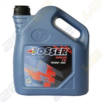 Полусинтетическое моторное масло Fosser Drive TS 10w-40 4л