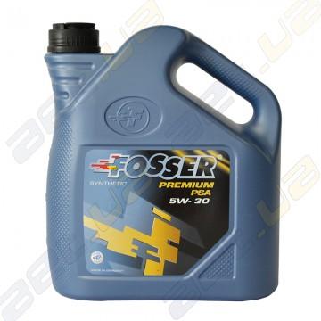 Синтетическое моторное масло Fosser Premium PSA 5w-30 4л