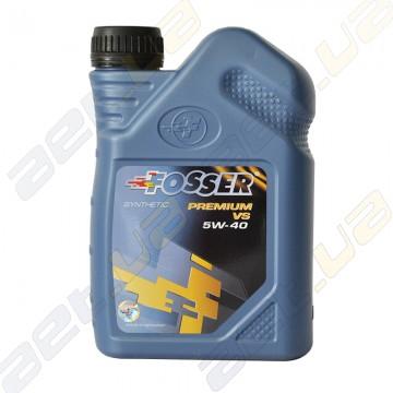 Синтетическое моторное масло Fosser Premium VS 5w-40 1л