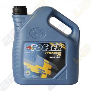 Синтетическое моторное масло Fosser Premium VS 5w-40 4л