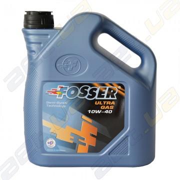 Полусинтетическое моторное масло Fosser Ultra Gas 10w-40 4л