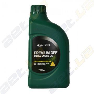 Моторное масло Mobis (Kia-Hyundai) Premium DPF Diesel 5W-30 (520000120) 1л