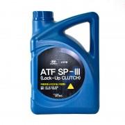 Моторное масло Mobis (Kia-Hyundai) ATF SP-III 80W (450000400) 4л