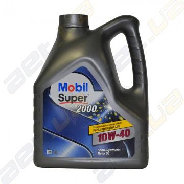 Моторное масло Mobil Super 2000 10W-40 4л