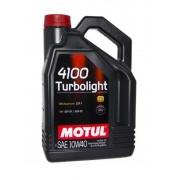 Моторное масло Motul 4100 Turbolight 10w40 – 4 л