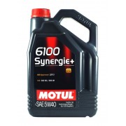 Моторное масло Motul 6100 Synergie + 5w40 – 5 л