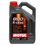 Моторное масло Motul 8100 X-cess 5w40 – 5 л