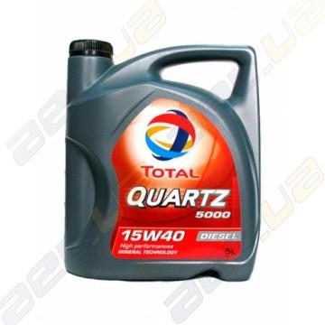 Моторное масло Total Quartz Diesel 5000 15W-40 5л