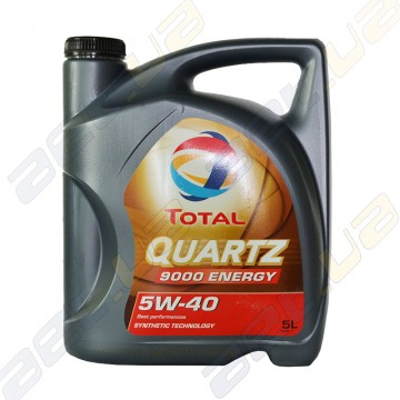 Масло моторное синтетическое Total Quartz Energy 9000 5W-40 5л