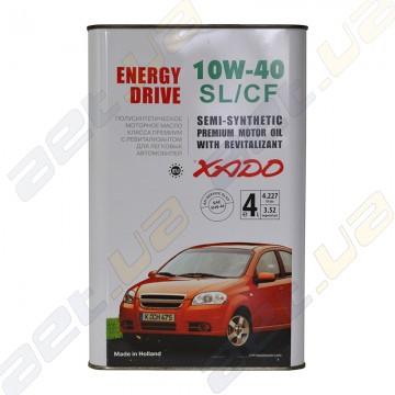Моторное масло Xado Atomic Oil SL/CF 10W-40 4л