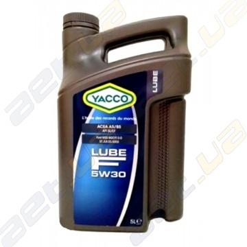 Моторное масло YACCO LUBE F 5W-30 - 5 л