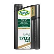 Моторное масло YACCO VX 1703 FAP 5W30 – 2 л