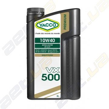 Моторное масло YACCO VX 500 10W40 – 2 л