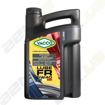 Моторное масло YACCO LUBE FR 5W-40 - 5 л