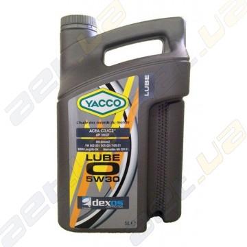 Моторное масло YACCO LUBE O 5W-30 - 5 л