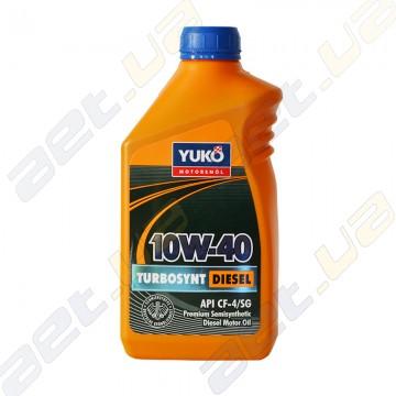 Моторное масло полусинтетика Yuko Turbosynt Diesel 10W-40 1л