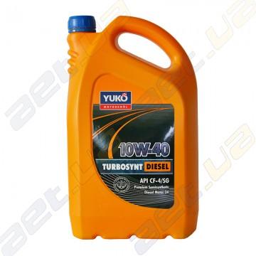 Масло моторное полусинтетика Yuko Turbosynt Diesel 10W-40 5л