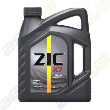 Моторное масло  ZIC X7 5W-40 4л