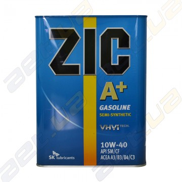 Моторное масло ZIC A+ 10W-40 4л