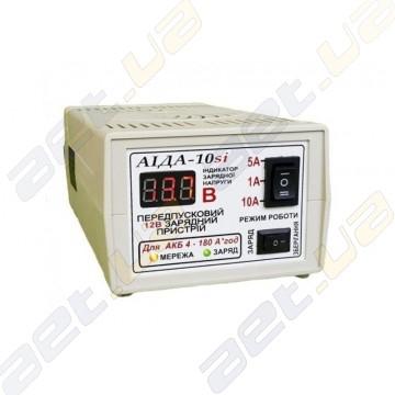 """Зарядное импульсное устройство """"АИДА-10si"""" 4-180 А*час с цифровым индикатором для авто аккумуляторов"""