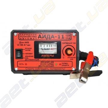 "Зарядное предпусковое устройство-автомат ""АИДА-11"" для авто аккумуляторов"