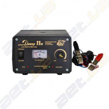 Зарядное устройство Днепр 11М для АКБ от 6 до 190 Ач.