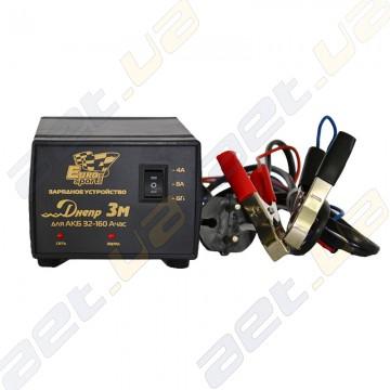 Зарядное устройство Днепр 3М для АКБ от 32 до 160 Ач.