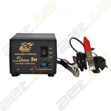 Зарядное устройство Днепр 5М для АКБ от 4 до 180 Ач.
