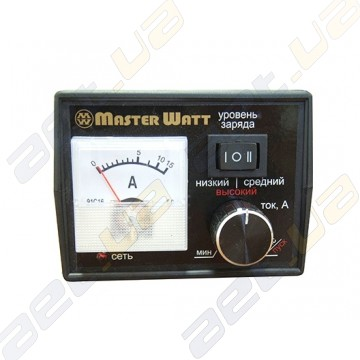 Зарядное устройство MasterWatt 15А 12В ( с амперметром и регулятором)