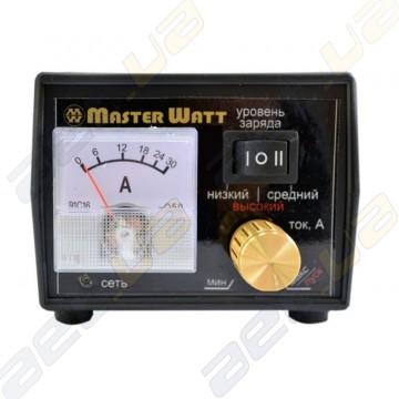 Зарядное устройство MasterWatt 25А 12В (с амперметром и регулятором)
