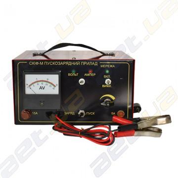 """Пуско - зарядное устройство """"Скиф"""" 15-10 для авто аккумуляторов."""