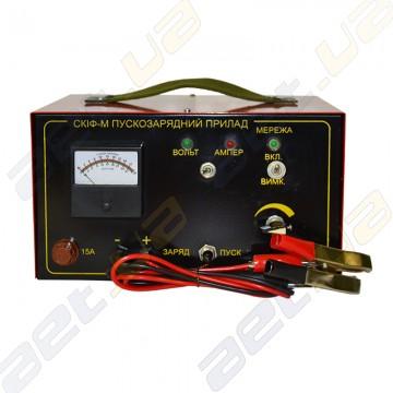 """Пуско - зарядное устройство """"Скиф"""" 15-10 """"12/24"""" для авто аккумуляторов."""