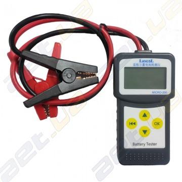 Тестер аккумуляторов Micro 200